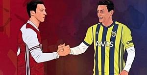 İŞTE..Mesut Özil#039;in imza atacağı...