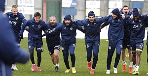 Göztepe maçı hazırlıkları başladı