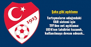 Tartışmaların odağındaki VAR sistemi için TFF'den net açıklama: UEFA'nın takdirini kazandı, kullanılmaya devam edecek..