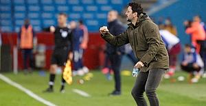 Erol Bulut: Futbolcularımı gösterdikleri mücadeleden dolayı tebrik ediyorum..
