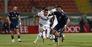 Aytemiz Alanyaspor 0-0 Fenerbahçe