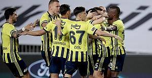 Fenerbahçe evinde kazandı