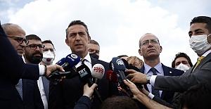 Başkanımız Ali Koç, Kumpas Davası'ndaki kararların ardından açıklamalar yaptı