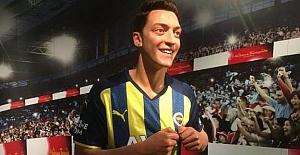Mesut Özil'in balmumu figürü, dünyaca ünlü yıldızlarla birlikte İstanbul'da sergilenecek..