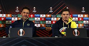 Vitor Pereira ve oyuncumuz Ferdi Kadıoğlu'ndan Royal Antwerp maçı öncesi açıklamalar