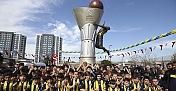 EuroLeague Kupası Anıtı açıldı