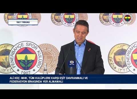 Başkanımız Ali Koç'un Basın Toplantısı | 14 Şubat 2019